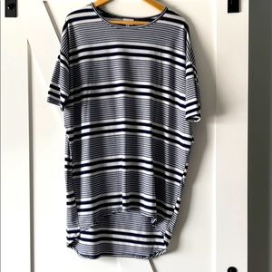 LulaRoe Irma Striped Tunic - Small